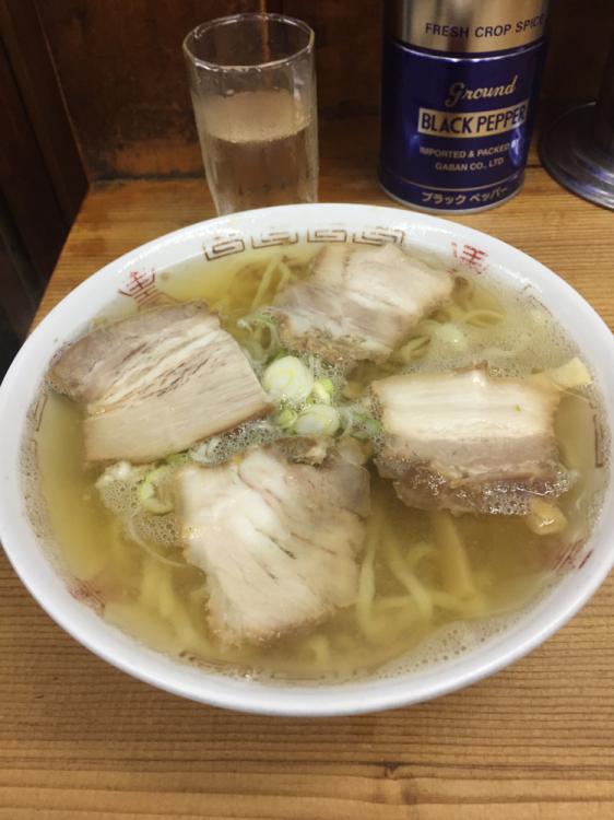 喜多方ラーメン(坂内食堂本店)