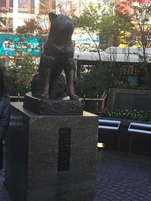渋谷駅ハチ公像