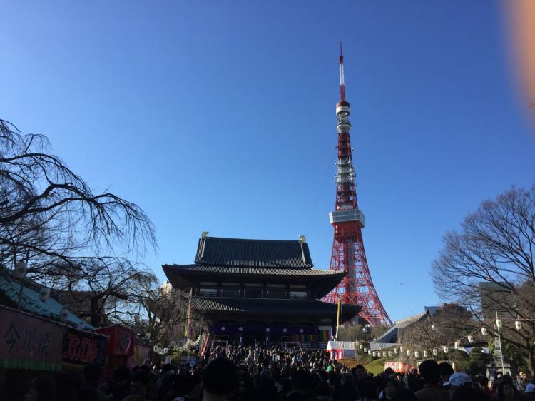 東京タワー増山寺