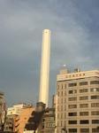 豊島清掃工場煙突