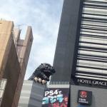 ゴジラのモニュメント(新宿東宝ビル)
