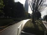 新宿サザンテラス小道