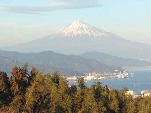 日本平よりの富士山