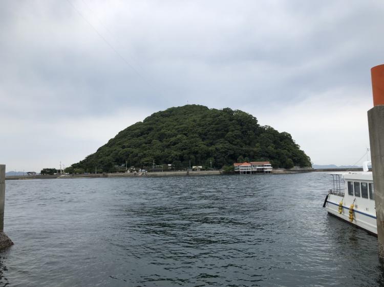 鹿島渡し舟乗り場より