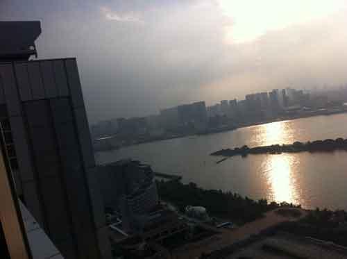 フジテレビ球体展望台からの風景