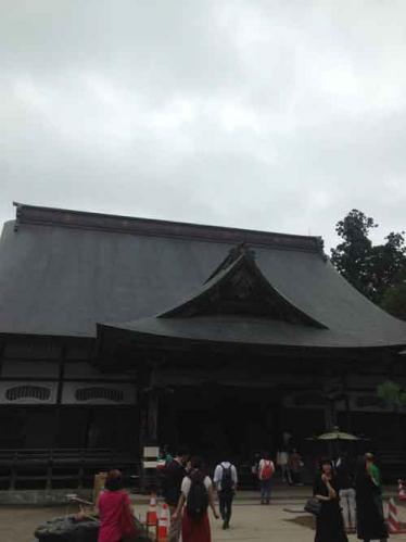 中尊寺金色堂付近の寺社