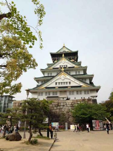 大阪城公園の内部にあります
