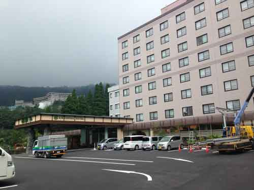 大きな浴場がある霧島ホテル