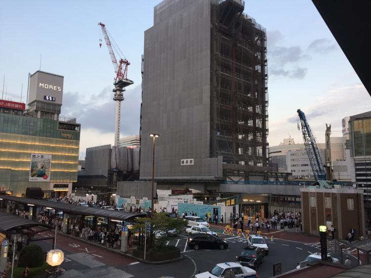横浜駅 西口方面