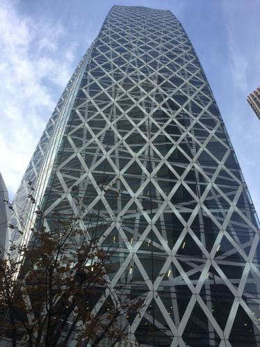 真下より東京モード学園ビル