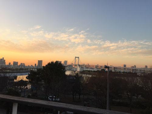 デックス東京ビーチからの風景