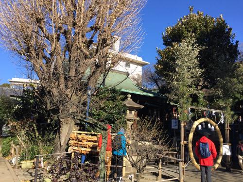 花園稲荷神社のとなりの五條天神社