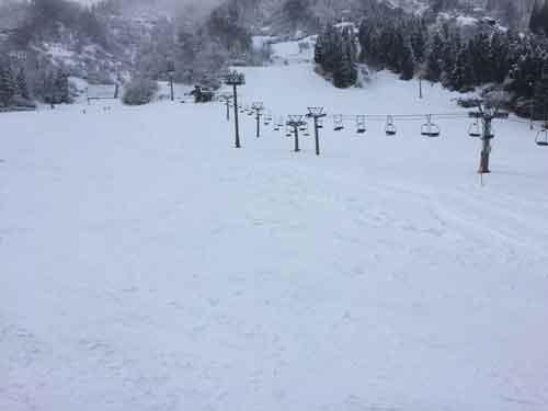 付近のスキー場