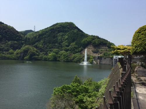 耶馬渓ダム湖