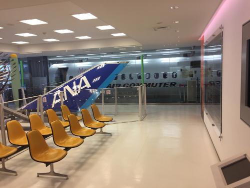 鹿児島空港 航空展示室