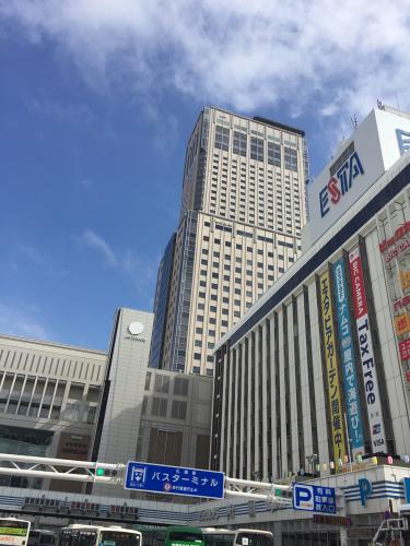 札幌駅のすぐ近く