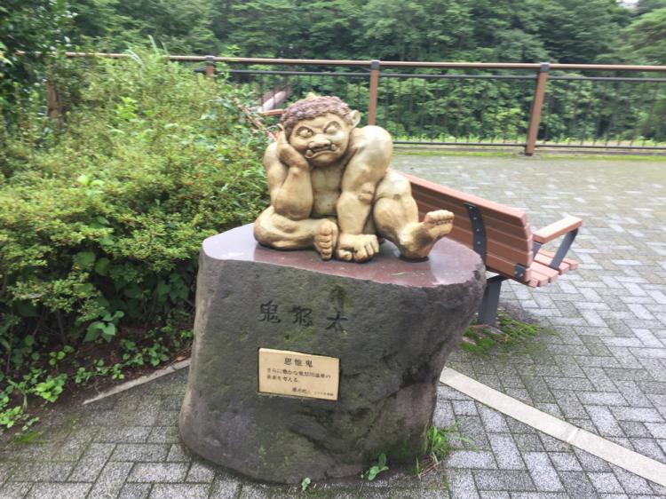 滝見橋付近の鬼怒太