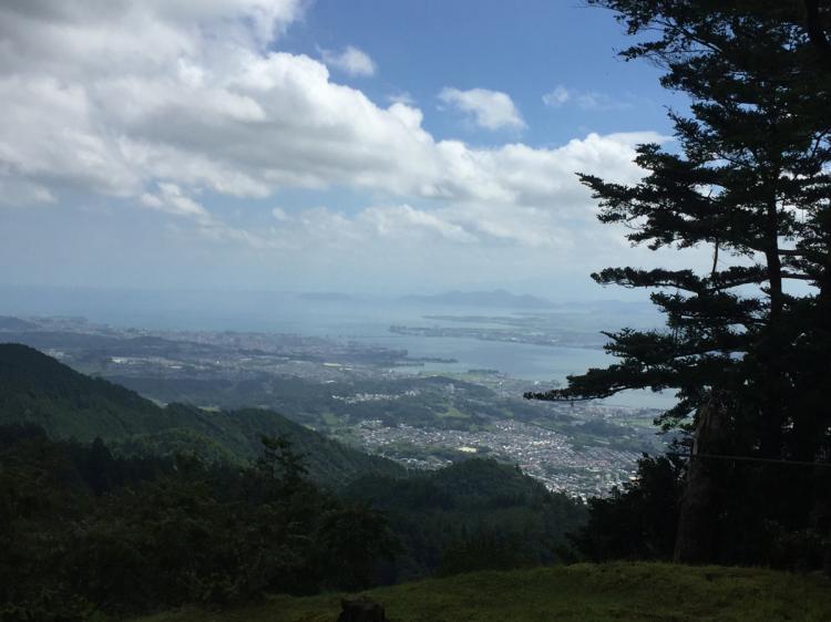 比叡山より琵琶湖