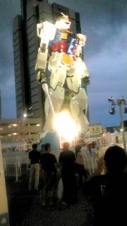静岡展示の頃のガンダム