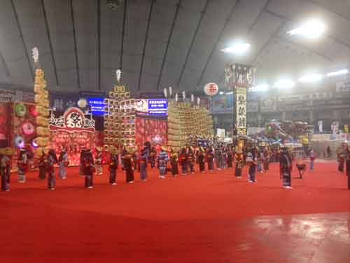 東京ドーム内でのイベントの様子