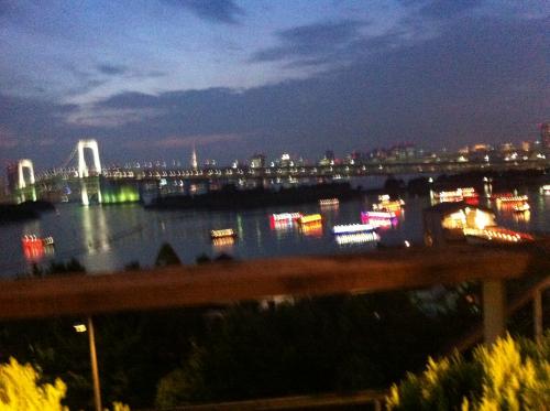 夜景がきれいです