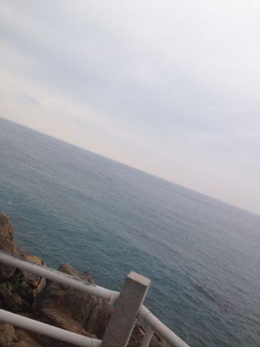 桂浜から見る太平洋