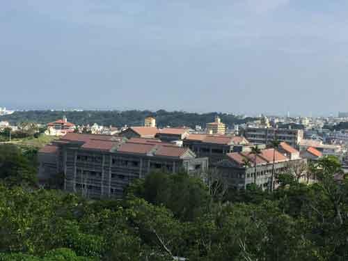首里城からの風景