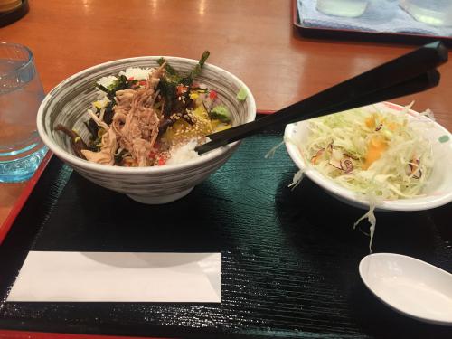 鶏飯バイキング(食事エリア)