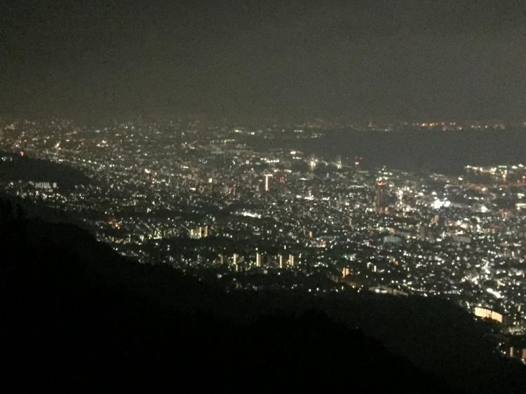 摩耶山展望台より 日本三大夜景