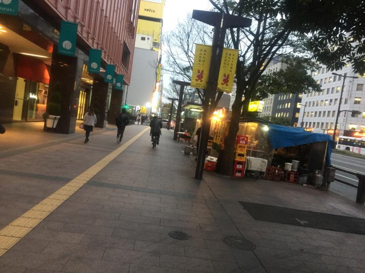 天神付近の昭和通り等でも見かける