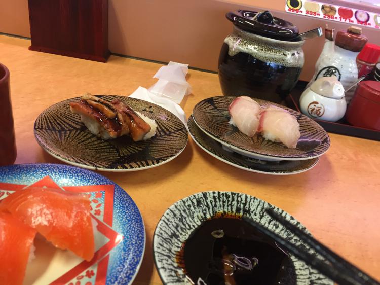 付近の境港産も多い寿司屋