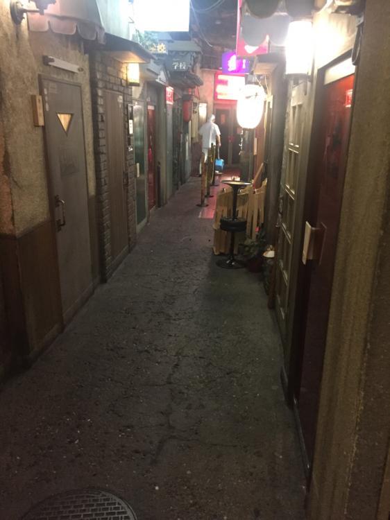 館内の通路