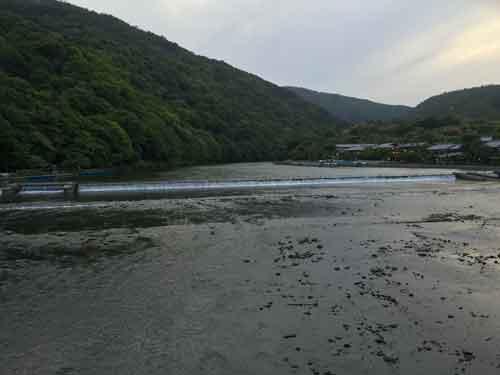 嵐山、桂川