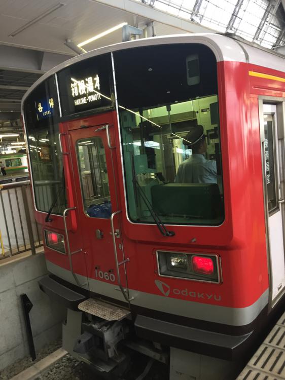 箱根登山鉄道電車