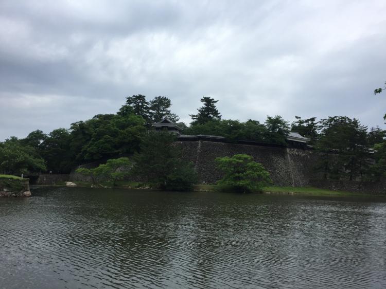 石垣とお堀