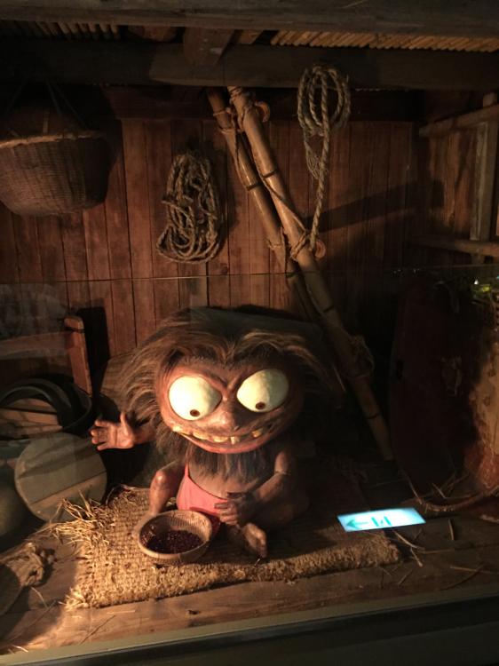 日本の妖怪の展示