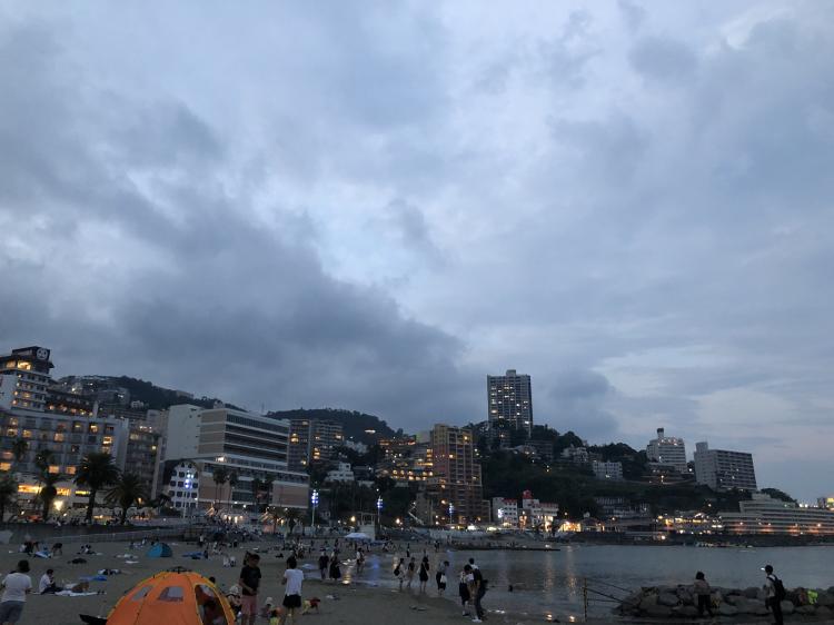 熱海 温泉街・海水浴場