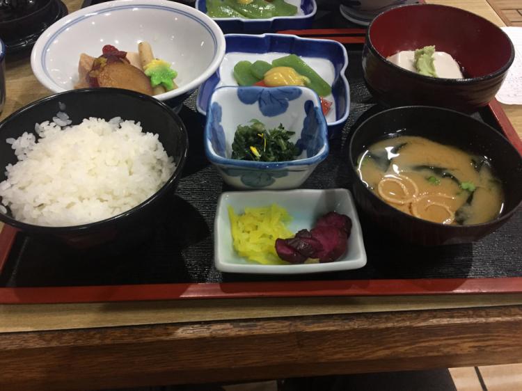 精進料理(高野山にて)