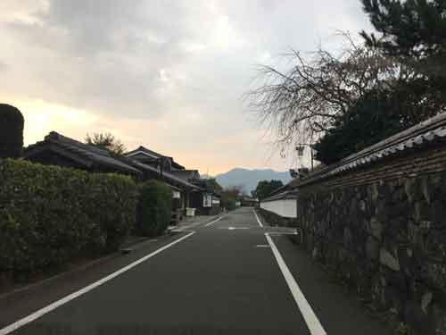 萩城付近城下町