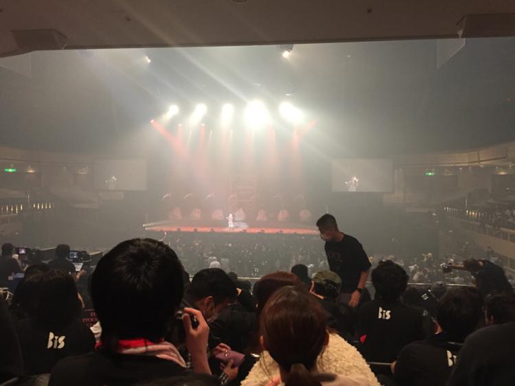 升席 正面より (コンサート時)