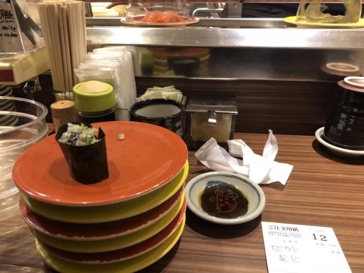 寿司もおいしい