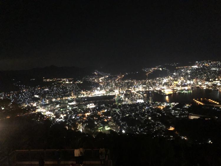 佐和山からの長崎夜景